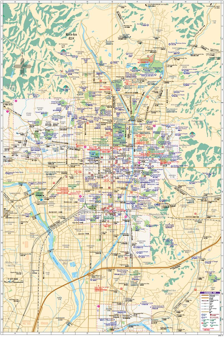 Download Kyoto Maps Youinjapannet Kyoto Pinterest Kyoto - Japan map english version