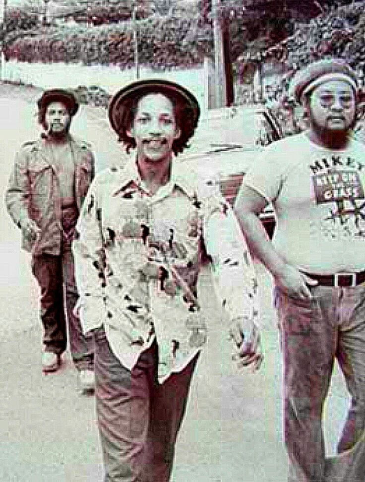 Jacob Miller, Augustus Pablo, Mikey Chung.