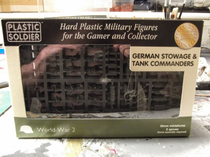 Storm of Steel: Plastic Soldier Company's German Stowage Product R...