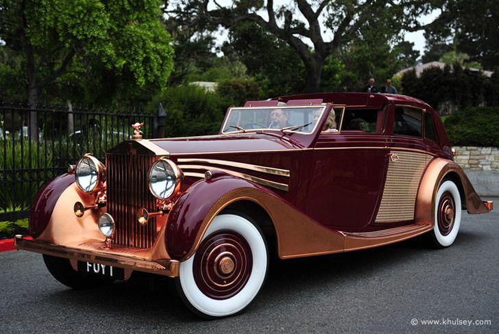"""POWER CARS: Rolls-Royce Phantom III Sedanca Saloon """"Copper Rolls"""" by Freestone & Webb"""