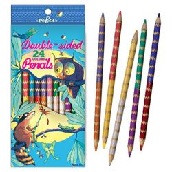 eeBoo Double Sided Coloured Pencils 12 Pack $7.95 at Mastermind (to accompany Design By Me colouring book)