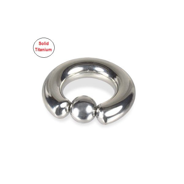 Solid Titanium Prince Albert Piercing Captive Bead Ring – cheapbuynsave.com