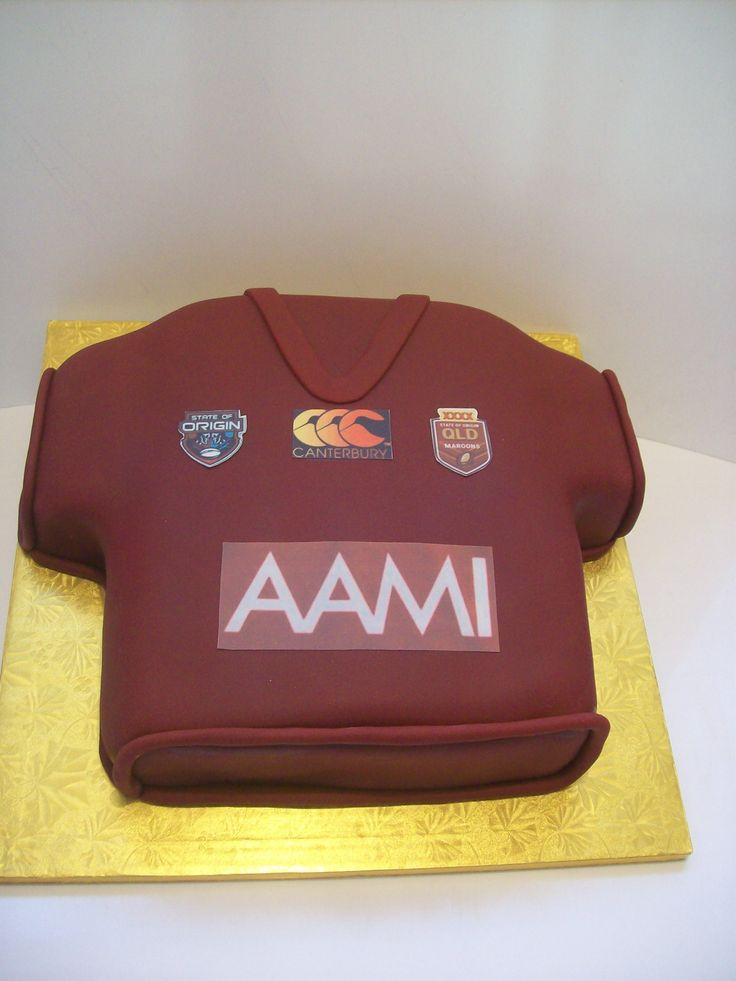 NRL Queensland Shirt Cake Auckland $295