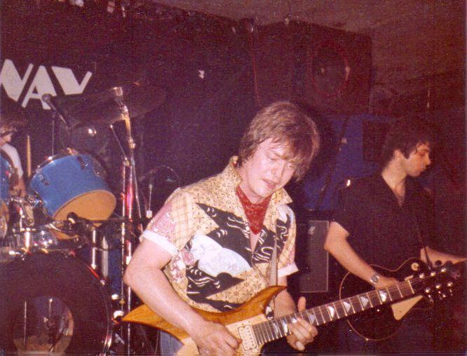 "Jimmy Wilcox, Rick Derringer, Alan Merrill. 1980. Derringer ""Face To Face"" album, world tour."