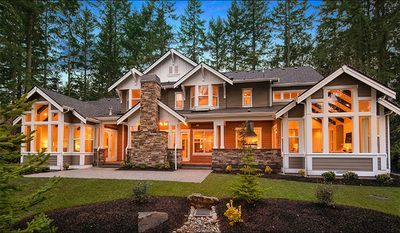 Grand Craftsman Manor - 23643JD | 1st Floor Master Suite, Bonus Room, Butler Walk-in Pantry, CAD Available, Craftsman, Den-Office-Library-Study, Luxury, Mountain, Multi Stairs to 2nd Floor, Northwest, PDF, Photo Gallery, Premium Collection | Architectural Designs