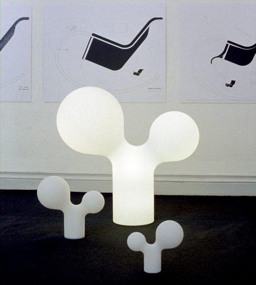 Double Bubble lamp - design Eero Aarnio