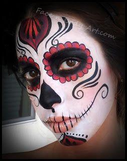 The Face n Body Art Blog: Dia De Los Muertos Makeup