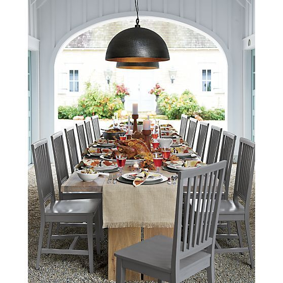 Village Grigio Wood Dining Chair and Natural Cushion  : 1a2faf895a10f828b51df82a8855a7a1 thanksgiving table settings design websites from www.pinterest.com size 558 x 558 jpeg 65kB