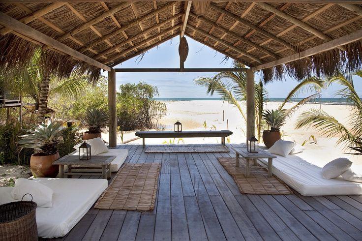 Beach bar in Brazil