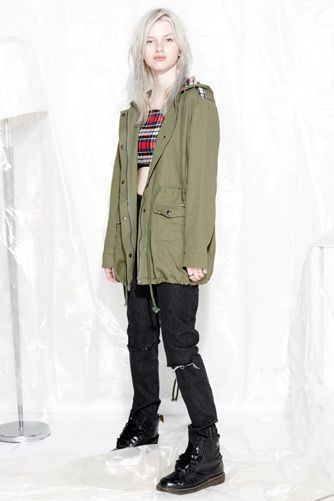 EVIL TWIN 'Army Brat Anorak' & 'Ripped and Ready Jean'