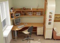 Письменный угловой стол для школьника5