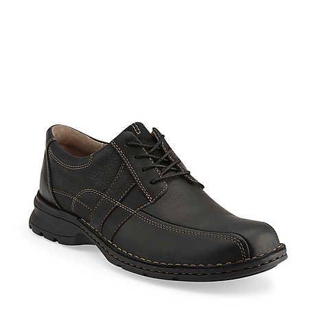 Clarks Espace Shoes Black