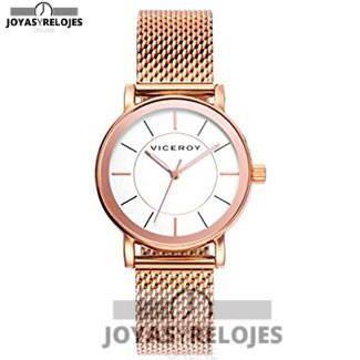 Colosal ⬆️😍✅ Viceroy 40898-97 😍⬆️✅ , ejemplar perteneciente a la Colección de RELOJES VICEROY ➡️ PRECIO 94.9 € Lo puedes comprar en 😍 https://www.joyasyrelojesonline.es/producto/reloj-viceroy-senora-40898-97-acero-malla-rosada/ 😍 ¡¡No los dejes Escapar!! #Relojes #RelojesViceroy #Viceroy
