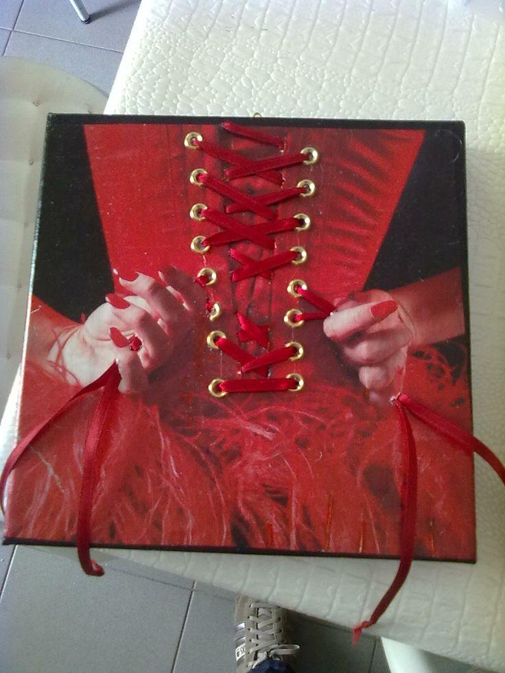 corsetto rosso-Cristina Lissiotto