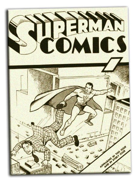 Comic Book Cover Drawing ~ Best images about siegel shuster on pinterest