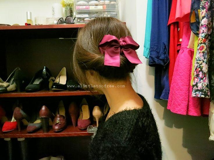 DIY easy 3 minute hairdo