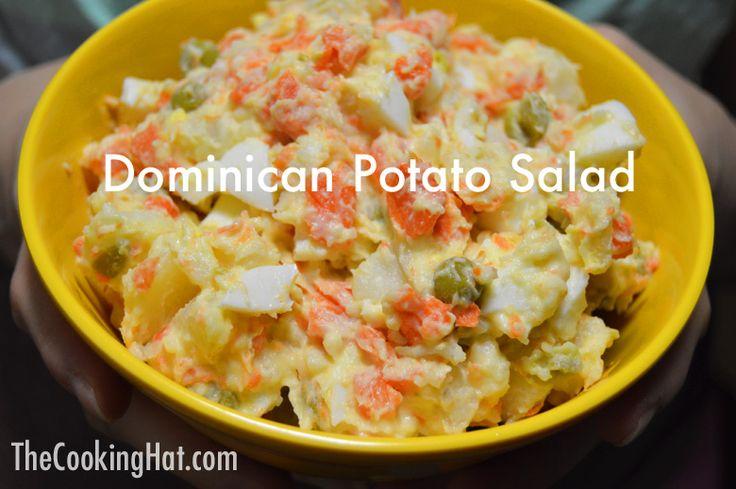 Dominican potato salad recipe