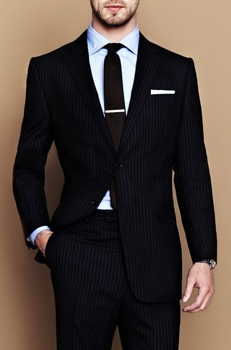 a man in a suit is to women as a woman in lingerie is to men.. and this is a very nice suit ;)