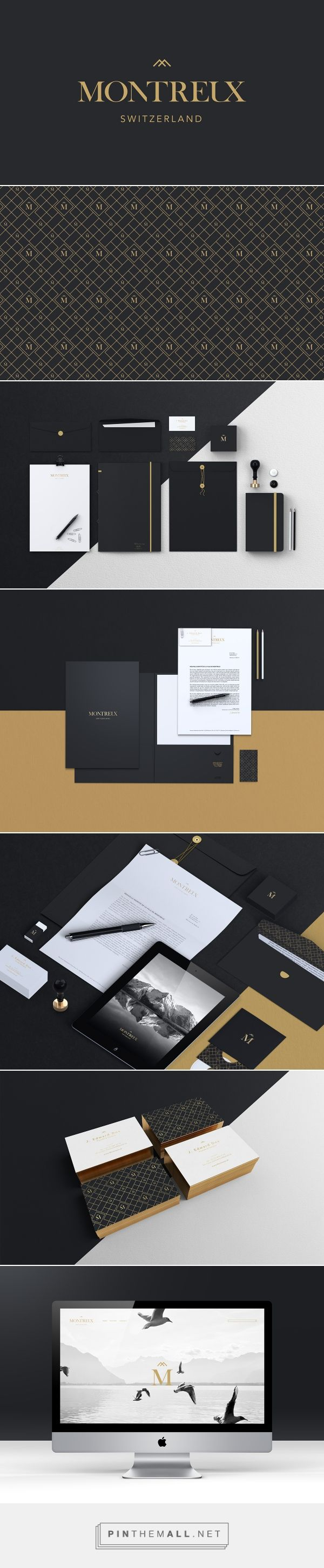 Montreux | Branding on Behance  | Fivestar Branding – Design and Branding Agency & Inspiration Gallery