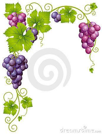 bordes de pagina de uvas - Buscar con Google