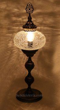 Turkish Style - Ottoman Lighting - mediterranean - Table Lamps - Hedef Aydınlatma