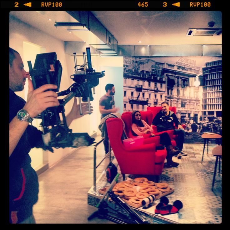 Video Shooting in our offices in Athens! Stay tuned..to be continued!! #video #shooting #tripsta