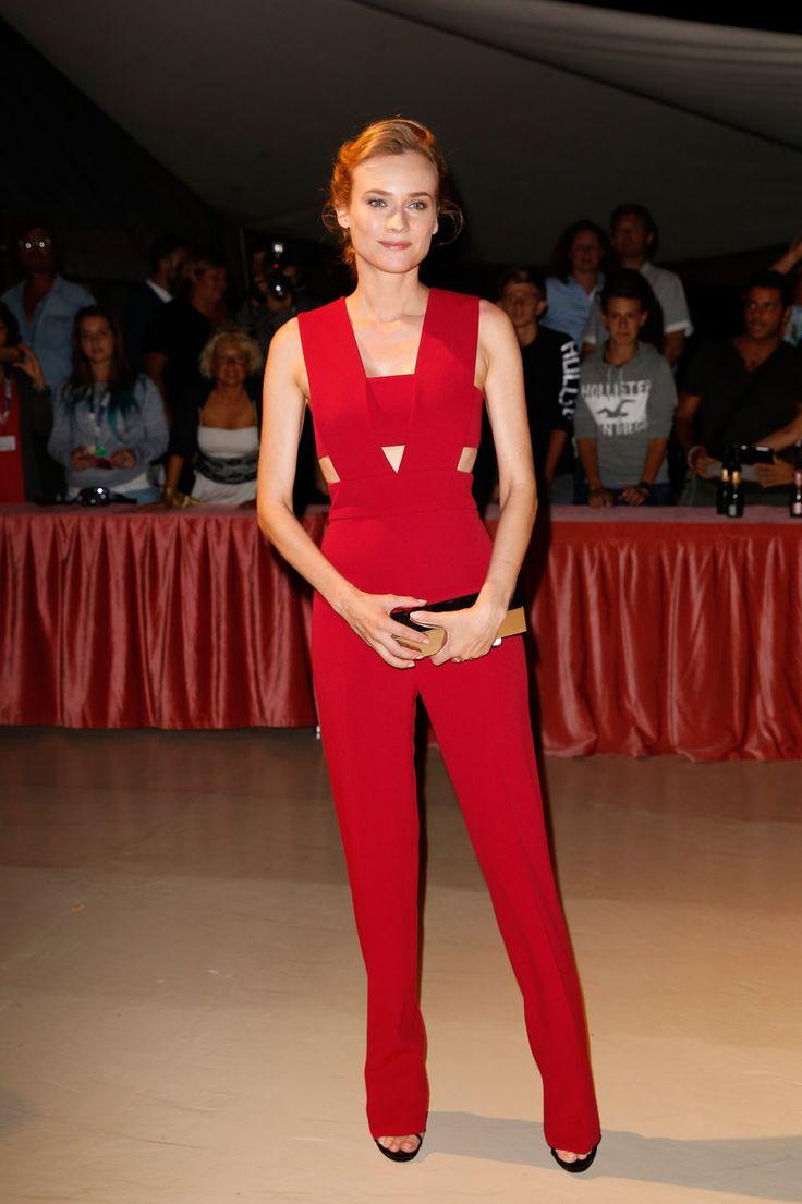 #BestLook: Diane Kruger w kombinezonie Cushnie et Ochs
