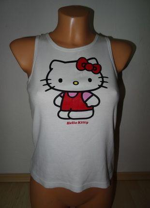Kupuj mé předměty na #vinted http://www.vinted.cz/damske-obleceni/topy-and-tank-topy-bez-rukavu/9730880-bile-tilko-s-hello-kitty