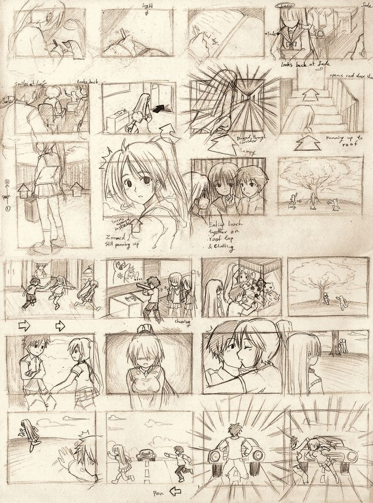 125 best Animation images on Pinterest Drawing tutorials, Art - anime storyboard