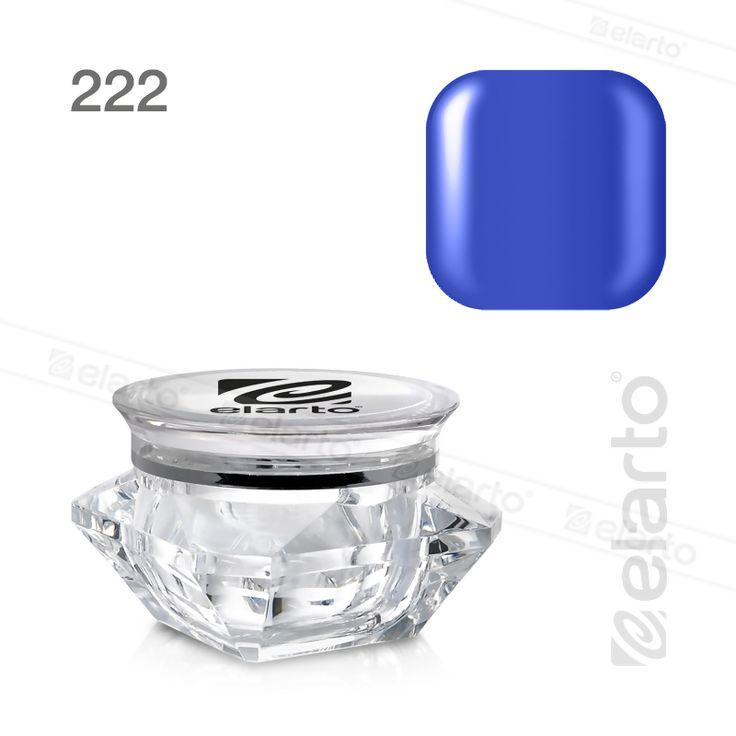 Żel kolorowy Extreme Color Gel nr 222 - chabrowy 5g #elarto #żel #kolorowy #chabrowy