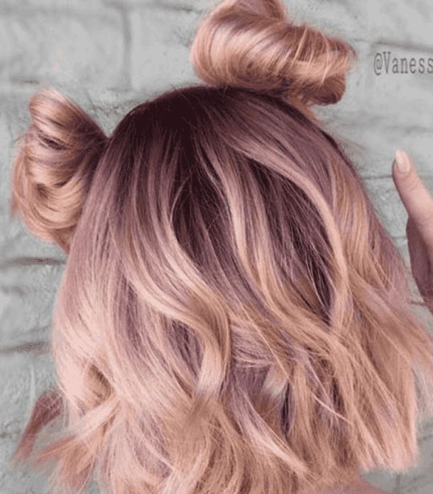 30 Best Rose Gold Hair Ideas Hair Color Rose Gold Hair Styles Peach Hair