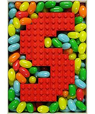 Letter Sweet | GALLERY | Letter Wall Art Sculpture Made with Real LEGO and Candy