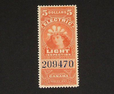 Stamp Pickers Canada BOB 1897 Victoria $5 Light Inspection #FE16 MNH