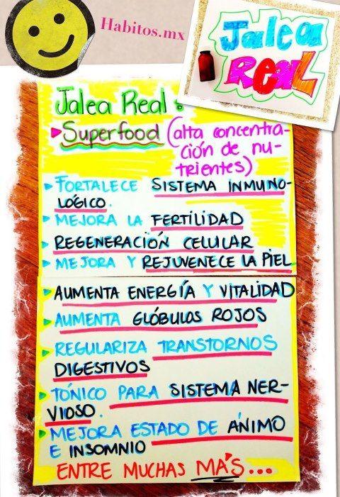 Recetas - jalea real