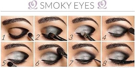 Maquillaje de Victoria's Secret en ojos ahumados   Fotos de moda