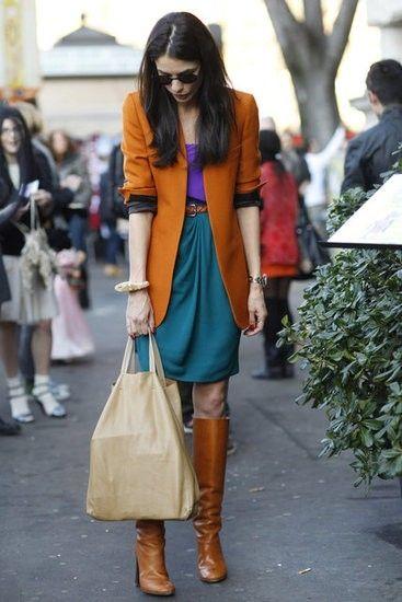 Milan Fashion Week Street Style by TinyCarmen