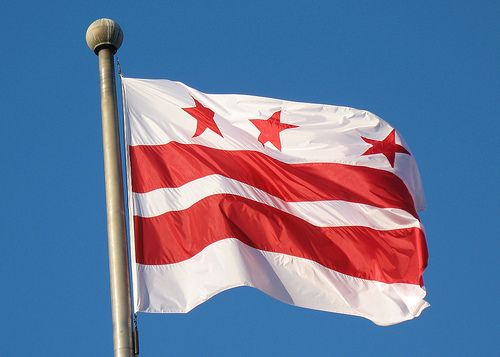 District of Columbia Flag Tattoo | District of Columbia flag by the talented Ted Nigrelli (Mr T. in DC on ...