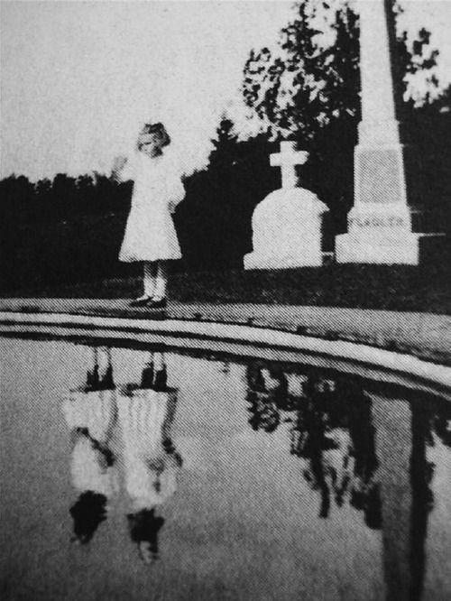 real vintage image used in the book Miss Peregrine's Home for Peculiar Children by Ransom Riggs