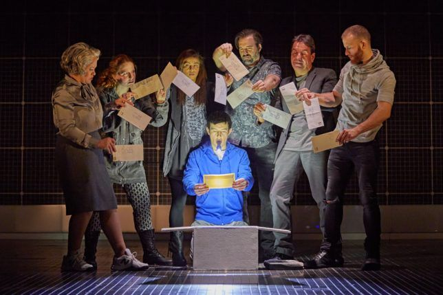 My review of The Curious Incident Of The Dog In The Night-Time.