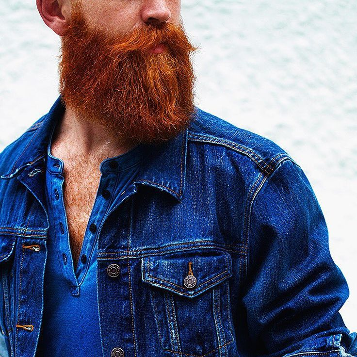 I fucking love a ginger beard