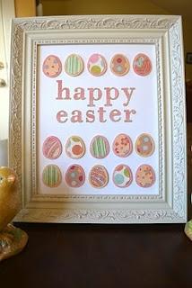 Simple DIY Easter decor