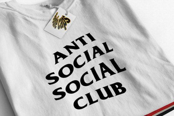 Anti Social Social Club Tshirt - Anti Social Social Club Sweatshirt - Kanye West Shirt - assc - yeezy hoodie - Yeezus Tshirt- Yeezus #SocialSocialClub #Hoodies