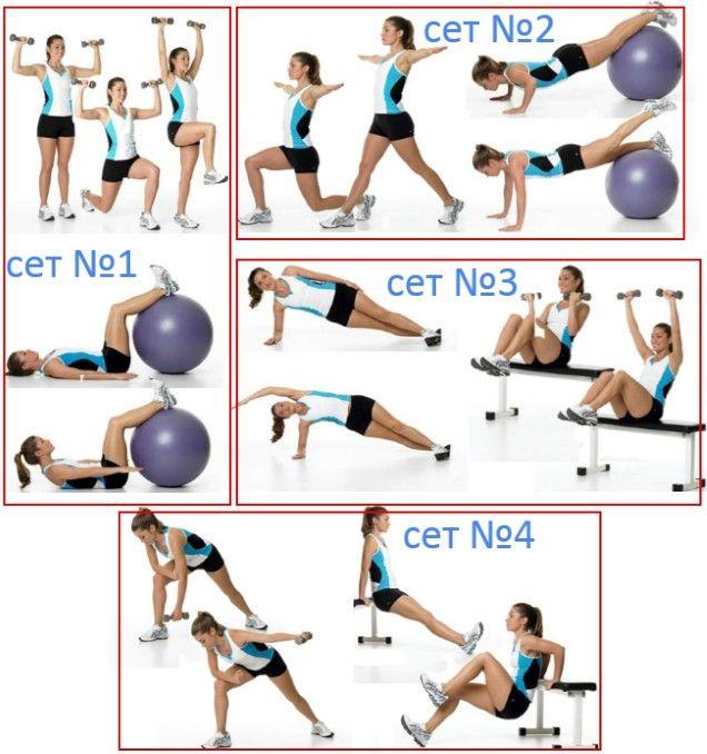 Программа тренировок для девушек груша, упражнения