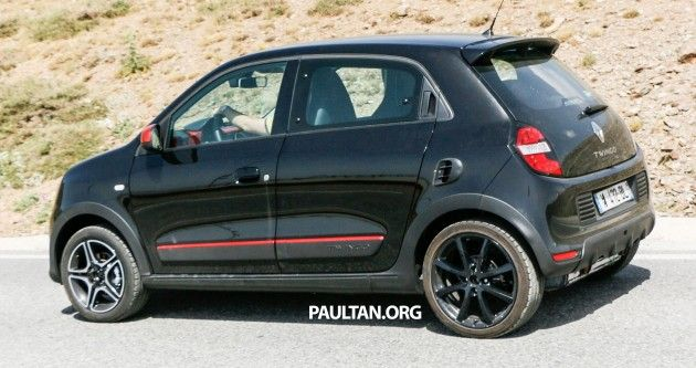 New Renault Twingo RS on test – to share an engine with the smart forfour Brabus? Read more: http://paultan.org/2014/07/25/spyshots-renault-twingo-rs-test-share-engine-smart-forfour-brabus/#ixzz3BWuYPDj1
