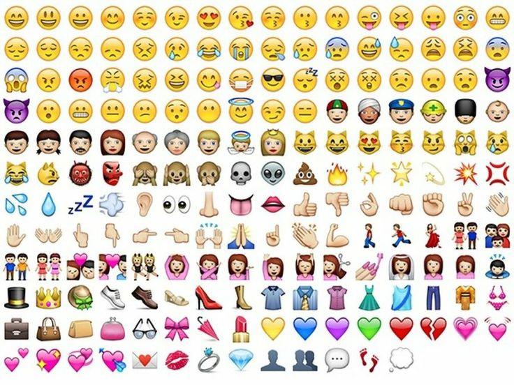 Si eres usuario de la aplicación de mensajería móvil más extendida del mundo, seguramente en algunas ocasiones te has preguntado de donde vienen los iconos.
