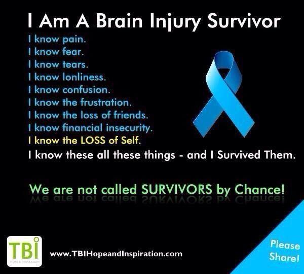 i am a brain injury survivor inspirational quotes