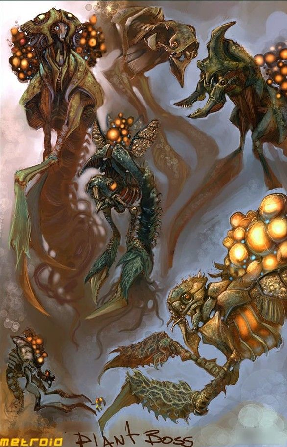 Pin by Sam Santala on Creature Designs | Metroid, Metroid ...