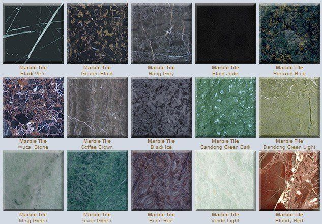Different Colored Marble Tile Discount Marble Stone Tile