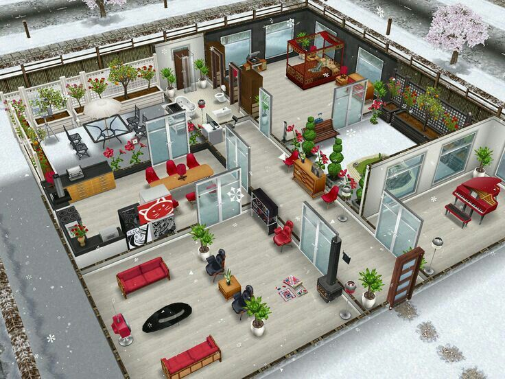 Casa navide a sims freeplay pinterest design da casa for Casa de diseno sims freeplay