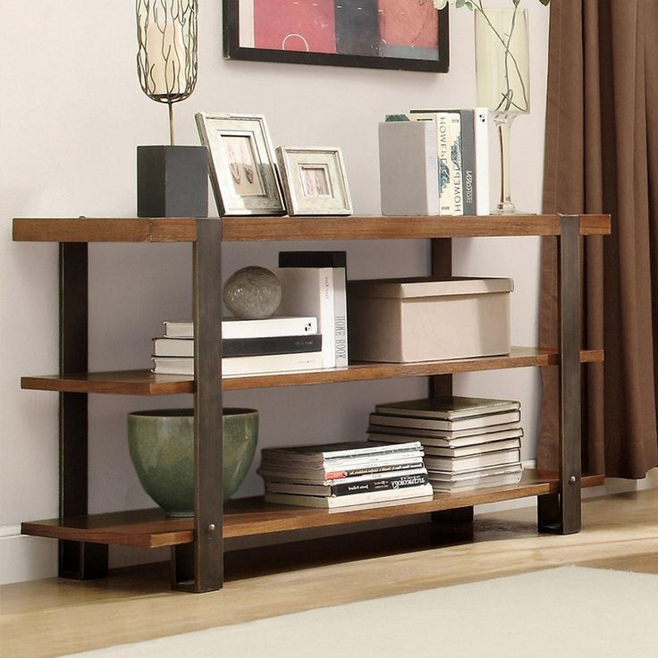 Sofa Table Bookcase - Home Office Furniture Images Check more at http://www.nikkitsfun.com/sofa-table-bookcase/